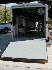 Tariler Ramp Door